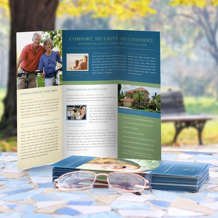 tri fold flyers print flyers online uprinting com